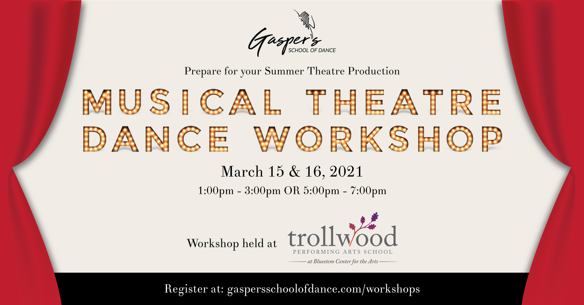 Musical Theater Dance Workshop presented by Gasper's School of Dance