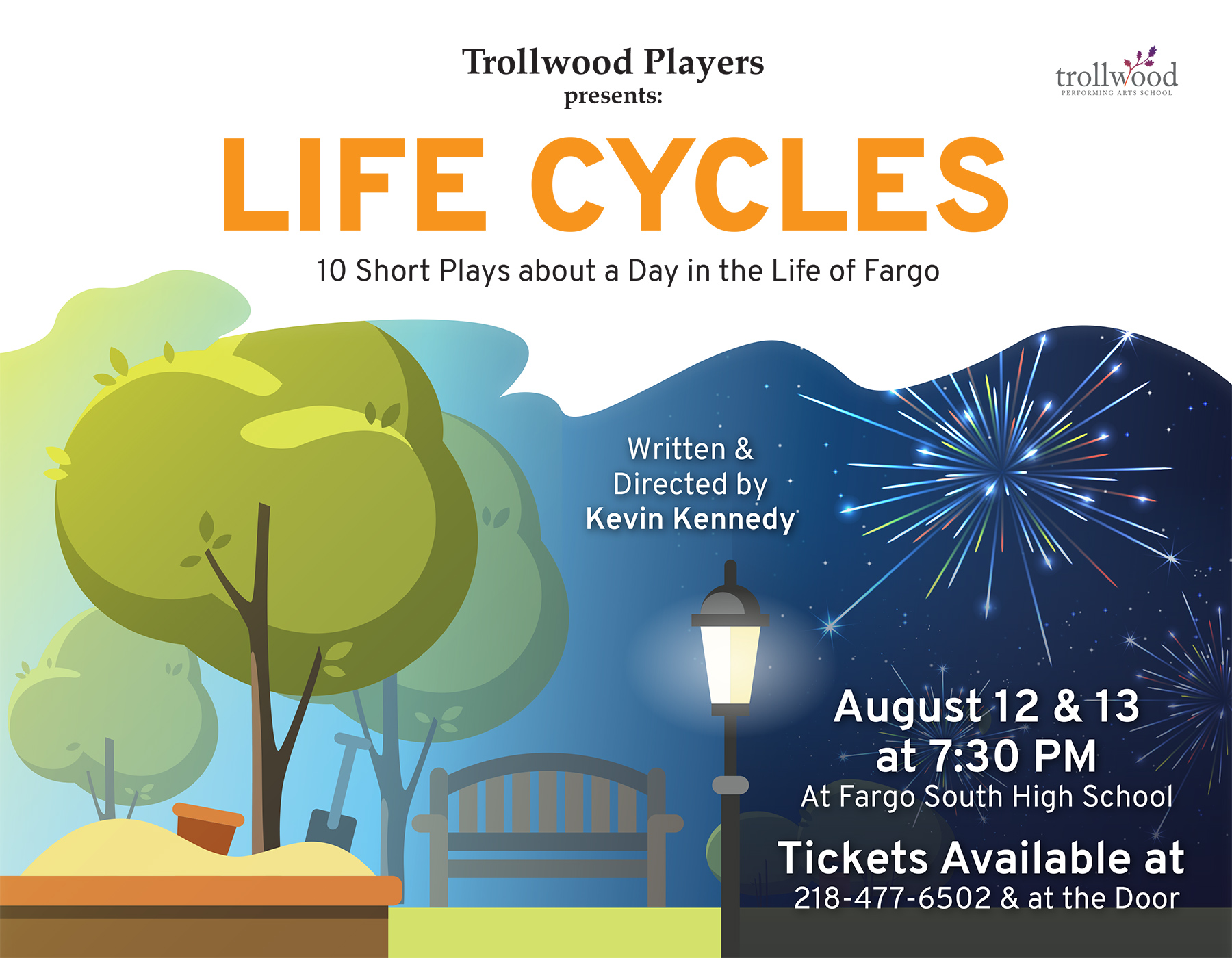 Trollwood Players Life Cycles Poster