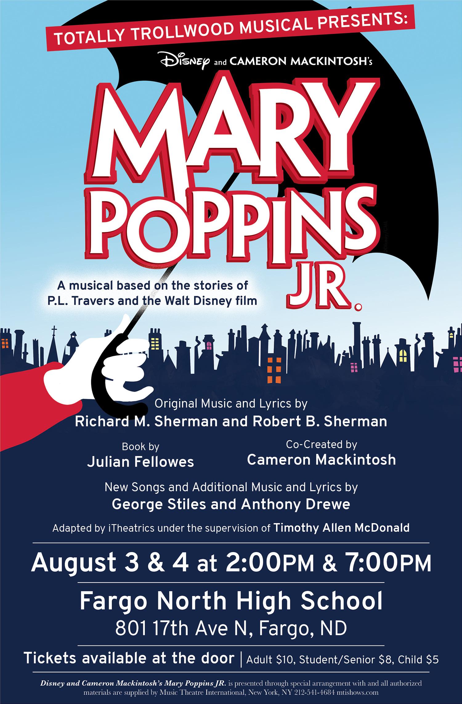 TTM Mary Poppins Jr Poster