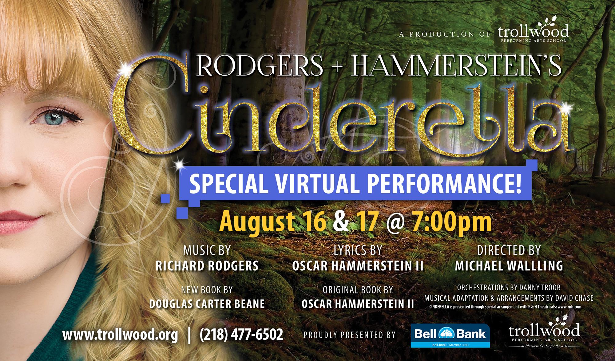 Special Virtual Cinderella Performance